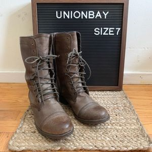 Union bay - Lace-up Combat Boots